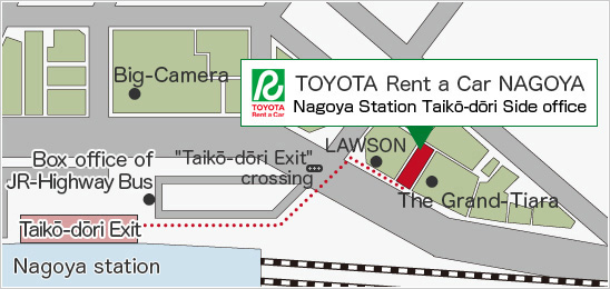 Toyota Rent A Car Nagoya Station